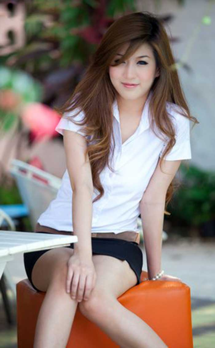 thai girl gom