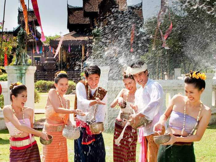 Songkran in Thailand