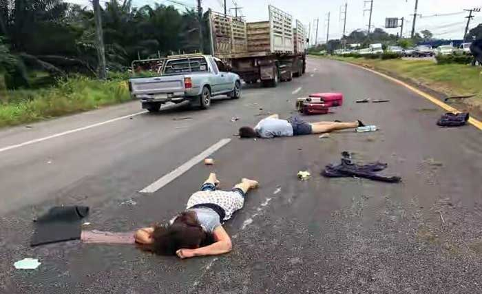 Death On Thailand Roads Amazing Thailand